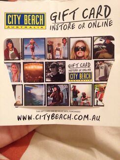 City beach gift card  Mayfield West Newcastle Area Preview