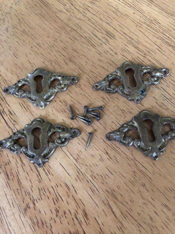 vintage BRASS key hole cover NICE