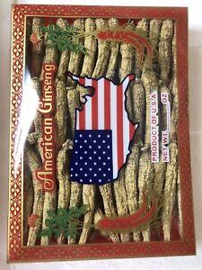 AMERICAN WISCONSIN GINSENG ROOT SHORT SMALL GUARANTEED 4 OZ 1 BOX 036