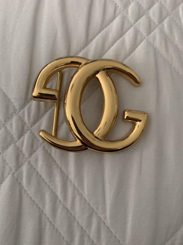 Rare Vintage Gucci Brass Belt Buckle (1970/1980s)