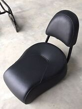 Genuine Harley Davidson Street bob pillion seat with rack and sissybar Echuca Campaspe Area Preview