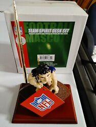 NEW YORK GIANTS NFL TEAM SPIRIT DESK SET WITH CLOCK  - NEW IN BOX