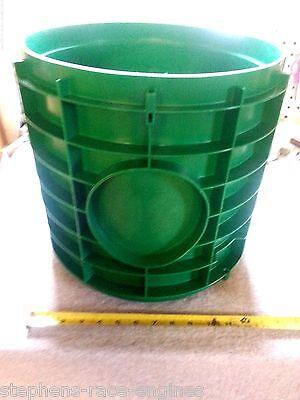"12"" X 12"" TUF-TITE PLASTIC RISER EXTENSION SEPTIC TANK"