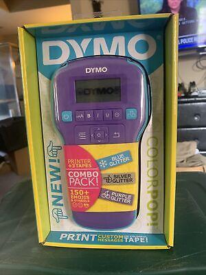 Dymo Colorpop Purple Label Maker New