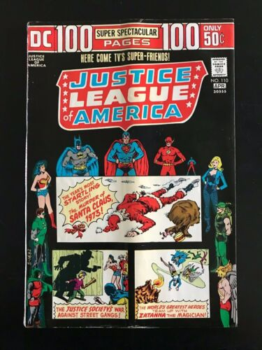 DC Justice League of America #110, 1974!