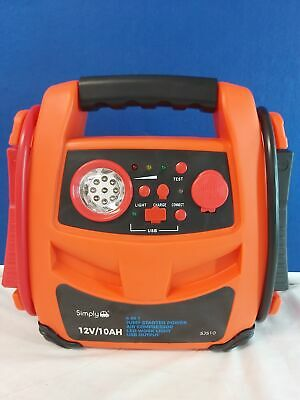 Portable Car Battery Power Booster Jump Start Starter Rescue Pack 600 AMP 12v
