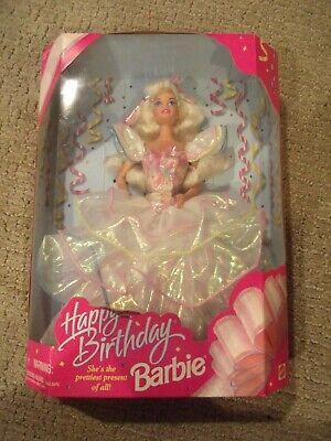 Happy Birthday Barbie Pretty Gown 1995