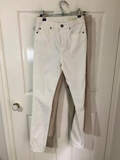 Sass and Bide white jeans
