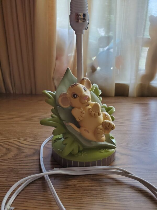 Disney Lion King Baby Simba Lamp Base no Shade
