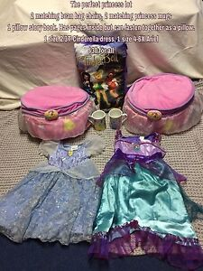 Princess dresses, beanie chairs and more