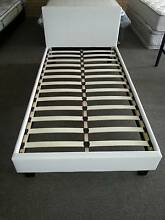 Single PU Bed Frame Black Or White Brand New Bayswater Bayswater Area Preview