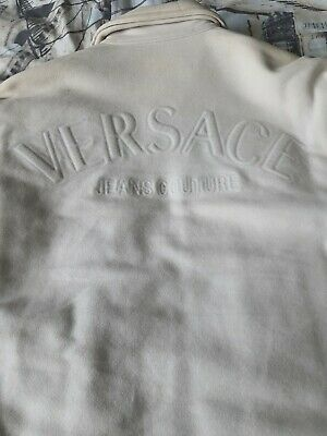 MENS VERSACE JACKET. STAND OUT VERSACE JEANS COUTURE  SIZE SMALL