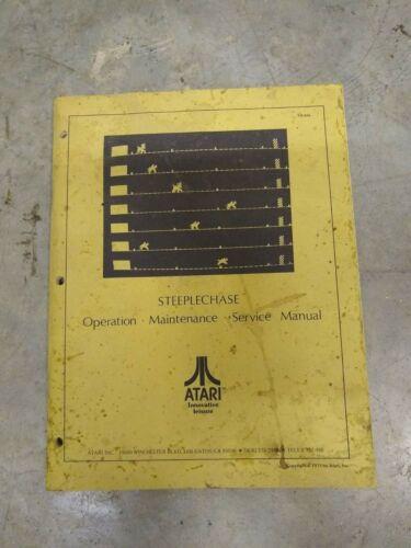 Atari Steeplechase Arcade Manual