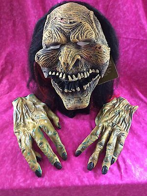 Moving Mouth Scary Costume Halloween Mask New 2008 Tags - Scary Mouth