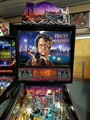 1995 Williams Dirty Harry Pinball Machine