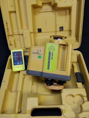 Topcon Rl-60b Rotary Laser Level With Receiver Clamp - 72