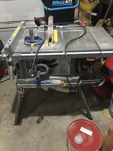 Portable Worksite Table saw