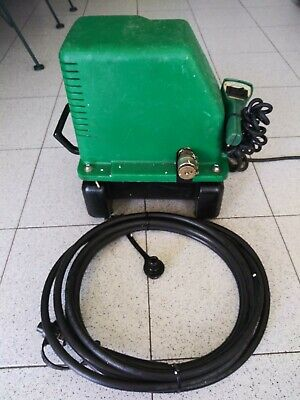 Greenlee 975 Electric Hydraulic Pump With Remote Pendant Hose Great Cond
