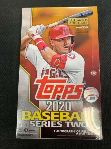2020 Topps SERIES 2 Baseball HOBBY Box Factory Sealed FREE SHIP!!
