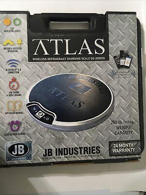 Jb Industries Ds-20000s - Atlas Wireless Refrigerant Charging Scale - 250 Lb