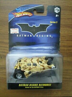 2008 HOT WHEELS      BATMAN BEGINS SERIES 2    BATMAN BEGINS BATMOBILE