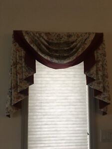 Set of 4 Window Valences