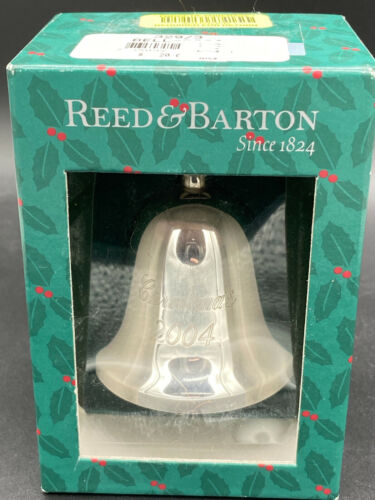 """Reed & Barton Annual Holiday Issue """"The Silver Bell"""" - Christmas 2004"""