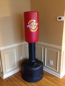 Punching boxing bag in mint condition