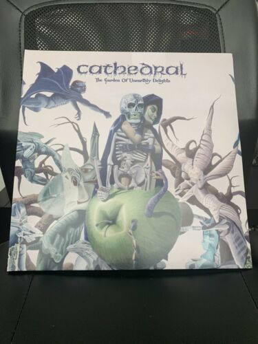 CATHEDRAL - GARDEN OF UNEARTHLY DELIGHTS 2 LP CLEAR VINYL - $30.00