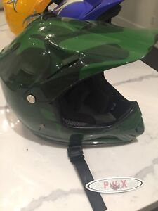 Fox Motocross Helmet Youth XL