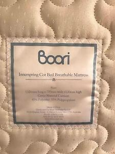 Boori Country Breathable Innerspring Mattress 132 x 77 Cm Albion Park Rail Shellharbour Area Preview