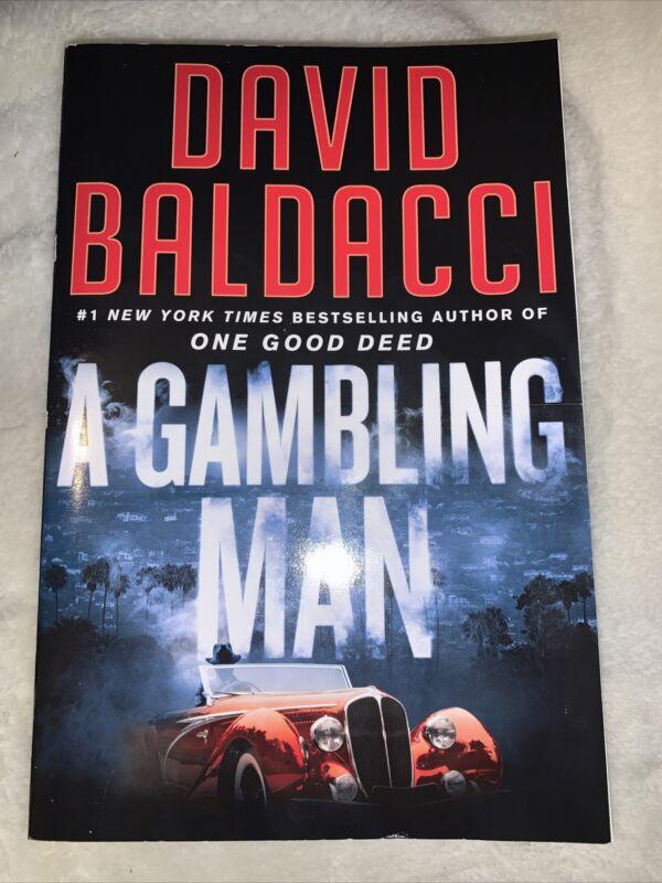 David Baldacci A Gambling Man 2021 NEW Free📬Shipping