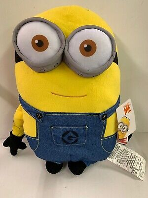 #2280 DESPICABLE ME YELLOW MINION TWO EYES THE ONE AND ONLY CUDDLE PILLOW NEW - Minions Minions