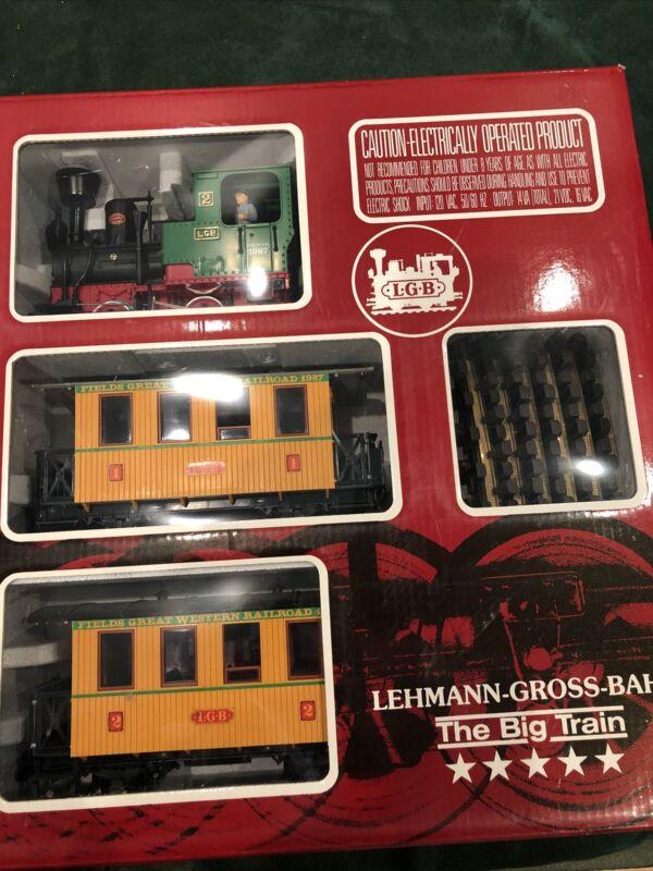 LGB 20537MF Marshall Field's Great Western Railroad Passenger Set 1987