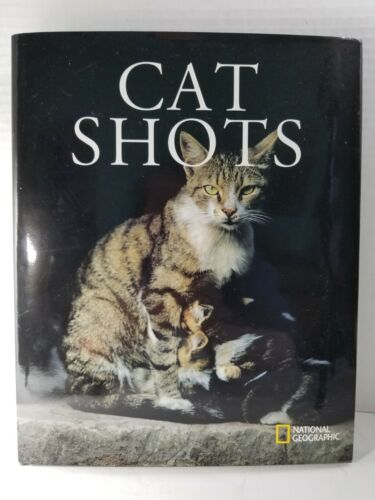 """2009 Edition National Geographic """"Cat Shots""""/text by Michele Slung, Mint w/Cover"""