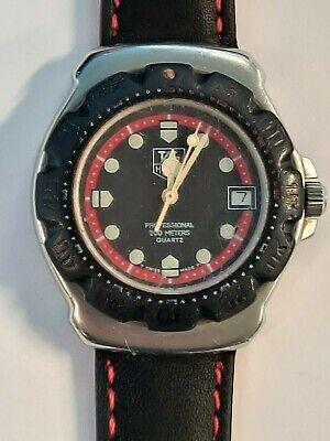 Mid-Size TAG HEUER F1 Professional Quartz Watch. 35mm. Black Dial. Date. WR 200M comprar usado  Enviando para Brazil
