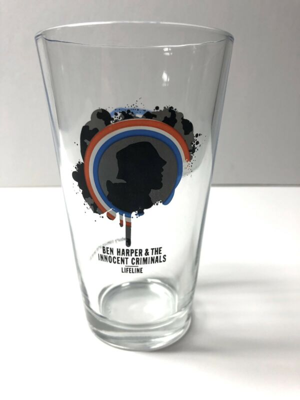 Ben Harper And The Innocent Criminals Lifeline Promo Pint Glass Newbury Comics