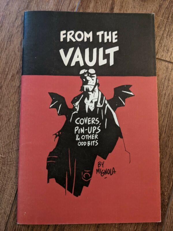 Mike Mignola 2007 Sketchbook - From The Vault - Signed - Hellboy