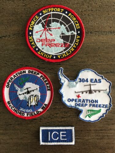 "USAF C-17A GLOBEMASTER PATCHES ""OPERATION DEEP FREEZE"""