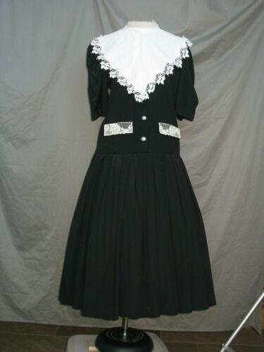 Civil War Dress Womens Victorian Costume Edwardian Servant Maid