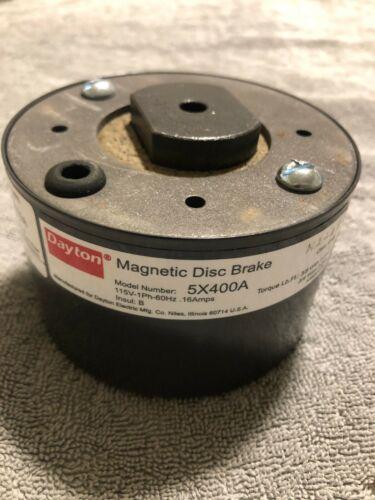 DAYTON 5X400A MAGNETIC DISC BRAKE 115V 60Hz