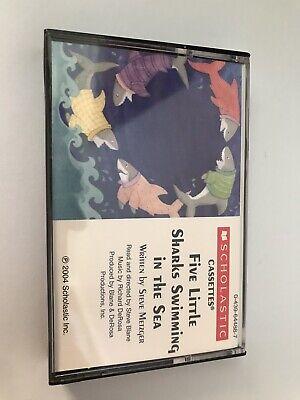 Five Little Sharks Swimming In The Sea By Steve Metzger Cassette Tape Audio