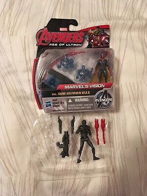 """Avengers Age of Ultron Vision, Sub-ultron 2.5"""" Figure Lot - Vision Age Of Ultron"""