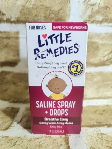 Little Noses Saline Size 1z