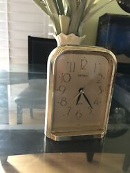 Vintage SEIKO Table Clock Classic Quartz Japan
