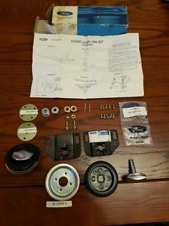 Bonnet hood pin kit.  Nos Fomoco (XA16700KT)