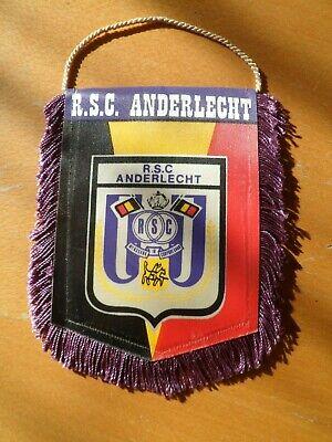 Fanion Football - R.S.C. ANDERLECHT - VINTAGE - (13 cm x 16 cm)