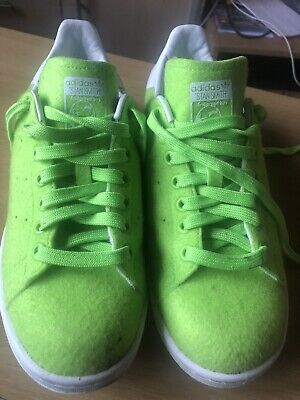 "Men's adidas Pharrell Williams ""Tennis Ball"" Stan Smith Trainers Size 6"
