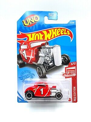 2021 Hot Wheels Target Red Edition '32 Ford Hot Rod - UNO 3/12
