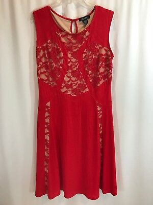 Candalite Womens Lace Stretch Holiday Party Valentines Day - Valentines Day Dress